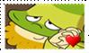 Bashful Fan Stamp by BlazeCute