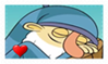 Sleepy Fan Stamp by BlazeCute
