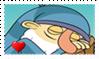Sleepy Fan Stamp by BlazeCute