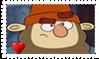 Grumpy Fan Stamp by BlazeCute