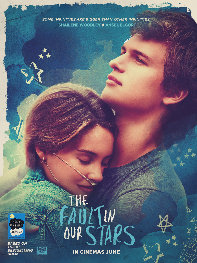 the fault in our stars poster by benikaridesigns on deviantart