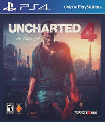 Uncharted 4: A Thiefs End PS4 Cover by BenikariDesigns