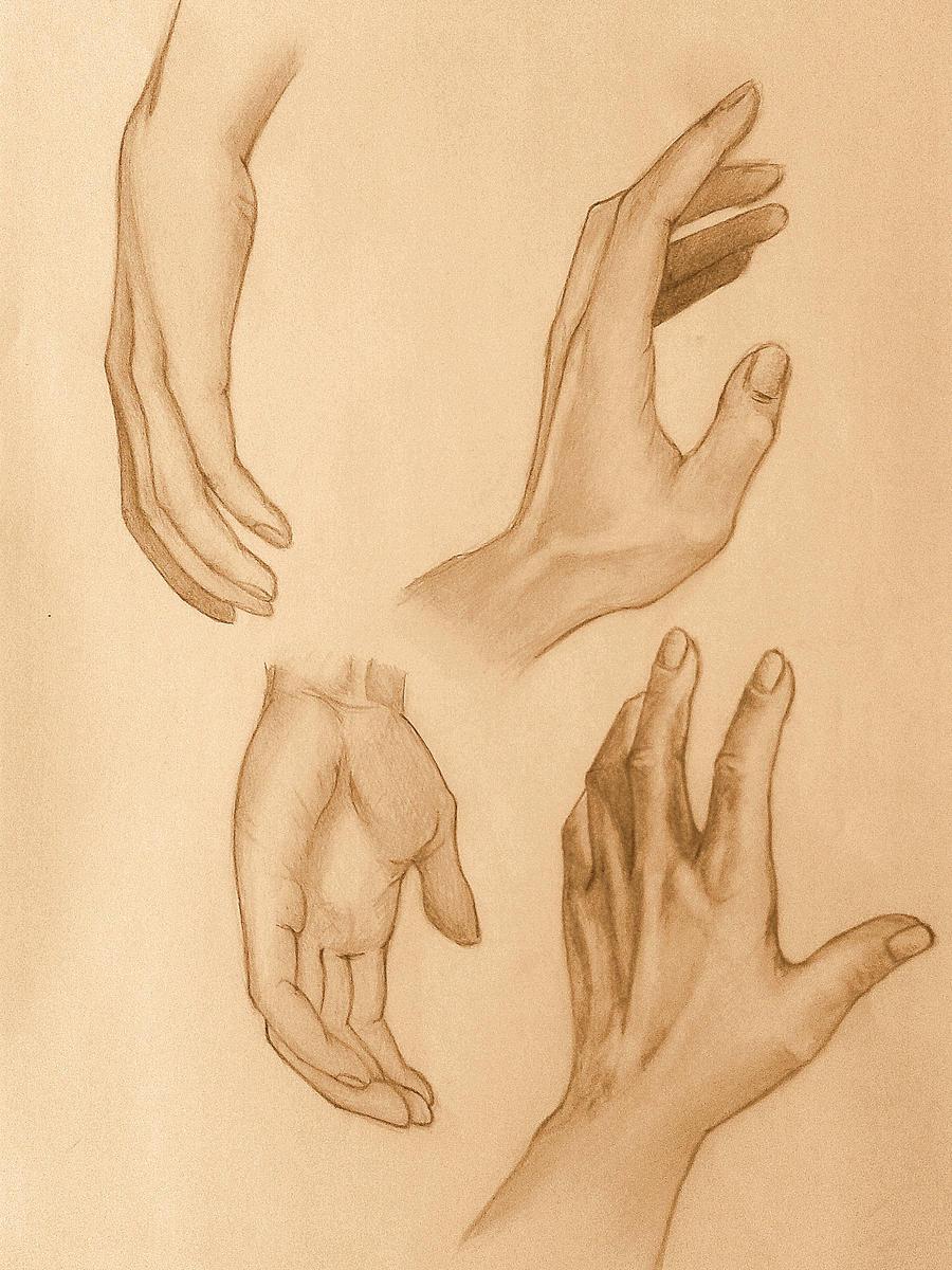 Hands practise 3. by Kiara2909