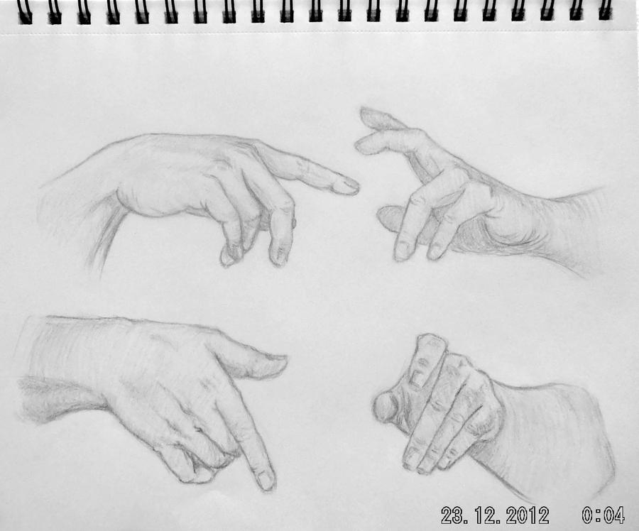 Hands practise 10. by Kiara2909