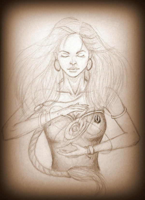 Althea. In the name of four elements... by Kiara2909