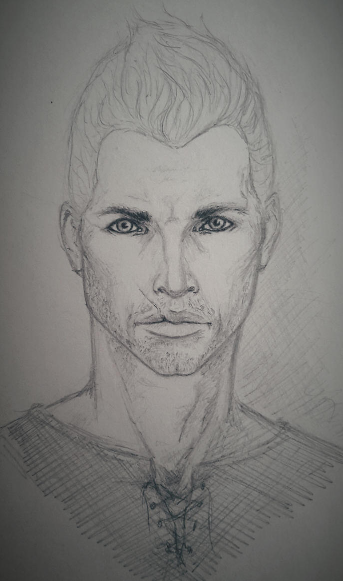 Sketchbook #63 Casual Cullen by Kiara2909