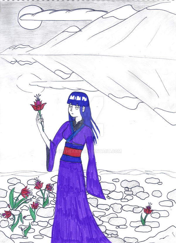 Hinata's flowers by InTheAier