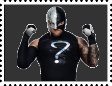 Rey Mysterio's Stamp by RalphAguilar462