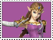 Zelda's Stamp by RalphAguilar462