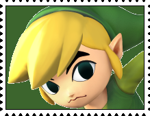 Toon Link's Stamp by RalphAguilar462