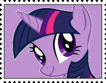 Twilight Sparkle's Stamp by RalphAguilar462
