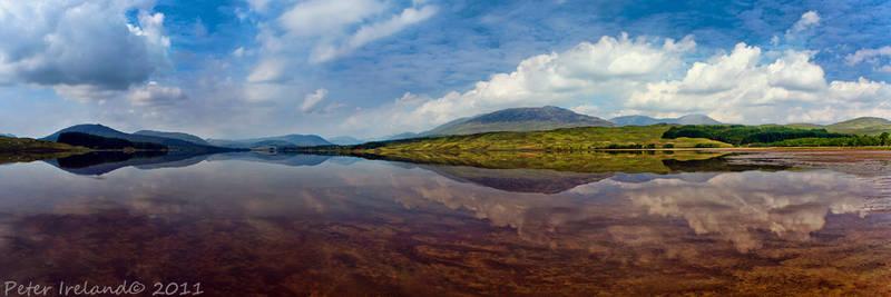 Loch Tulla Panorama