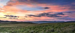 Sundown over Skye