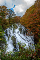 Swallow Falls Betws-Coed Wales by Pistolpete2007
