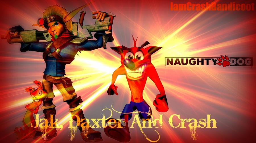 NaughtyDog's Heros by IamCrashBandicoot