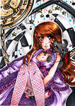 .:Like Alice in Wonderland- colored:.