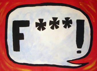 F--- Bubble by Octopi-Arts