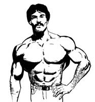 Mike Mentzer by smygba