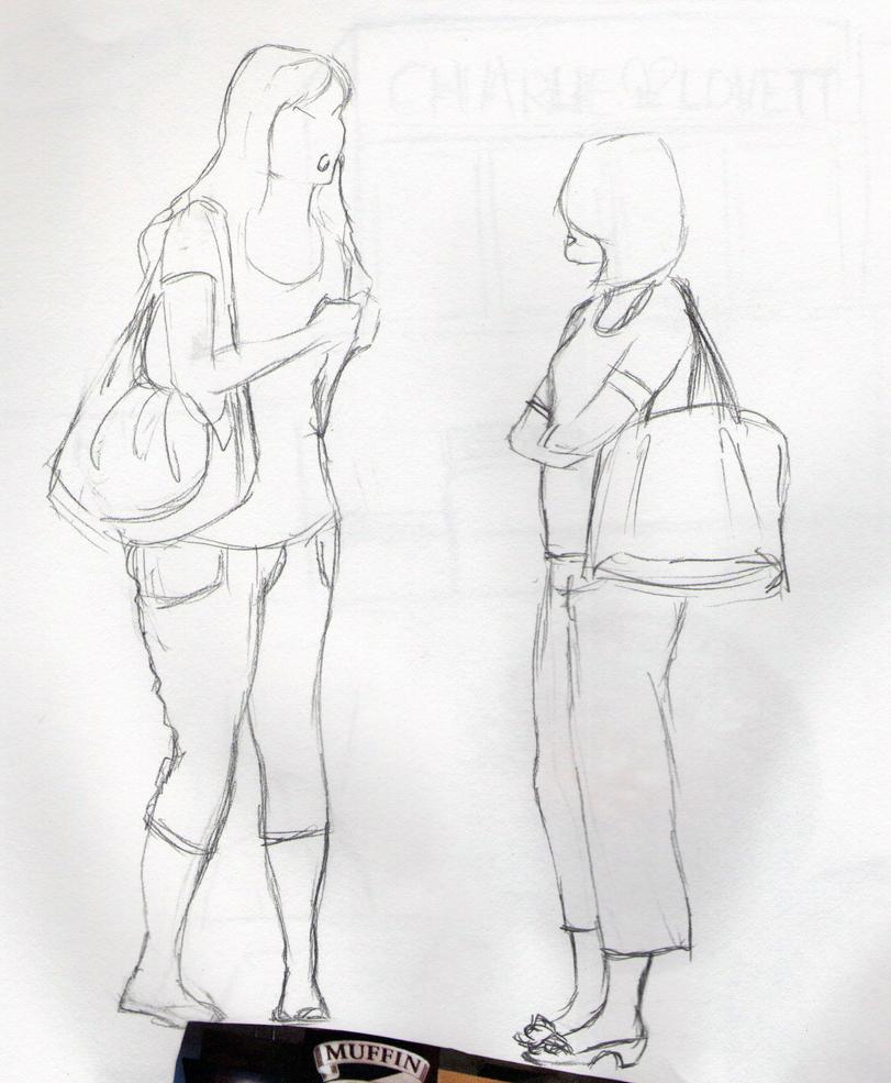 Coffee Shop Drawings