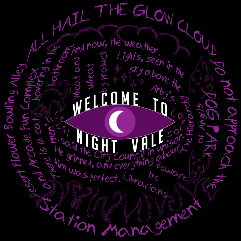 Night Vale T-shirt by LaEscritora