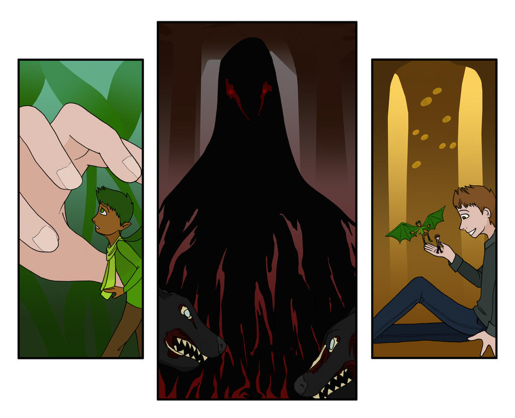 Lich Of Sense Triptych
