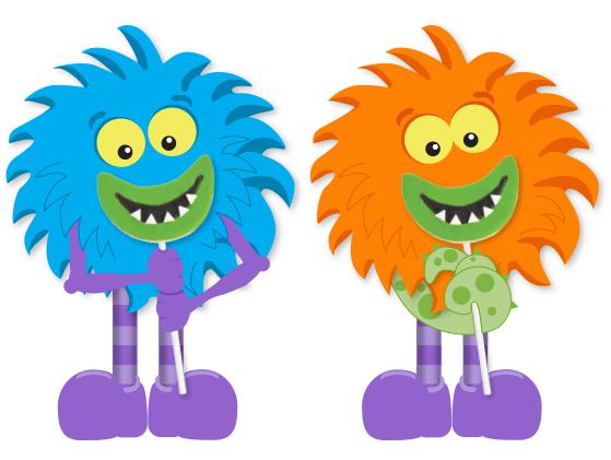 Monster Smile Cookie Pops by nklein on DeviantArt
