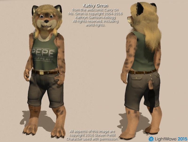 Presenting Kathy Grrsn by Kryslin