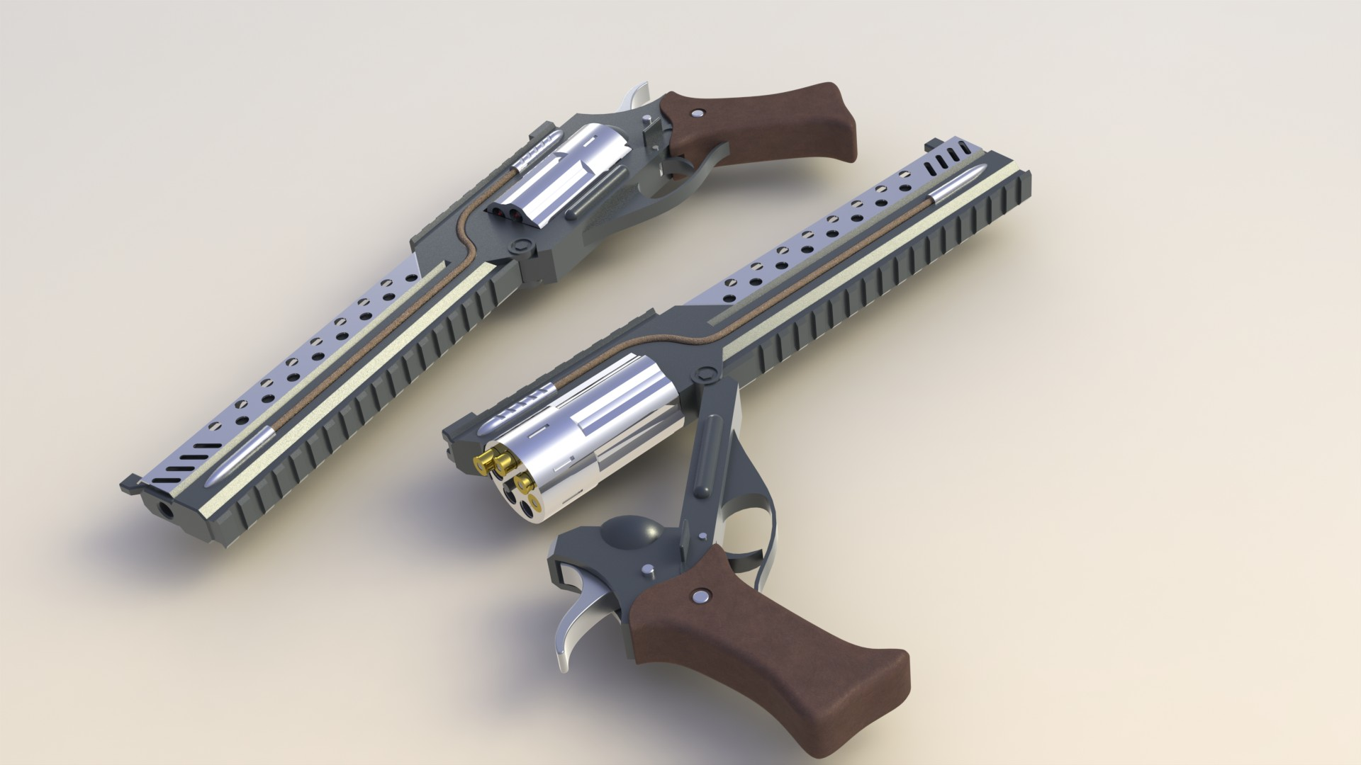 Wesson Kane Mod 526 Revolver By Steamtank On Deviantart