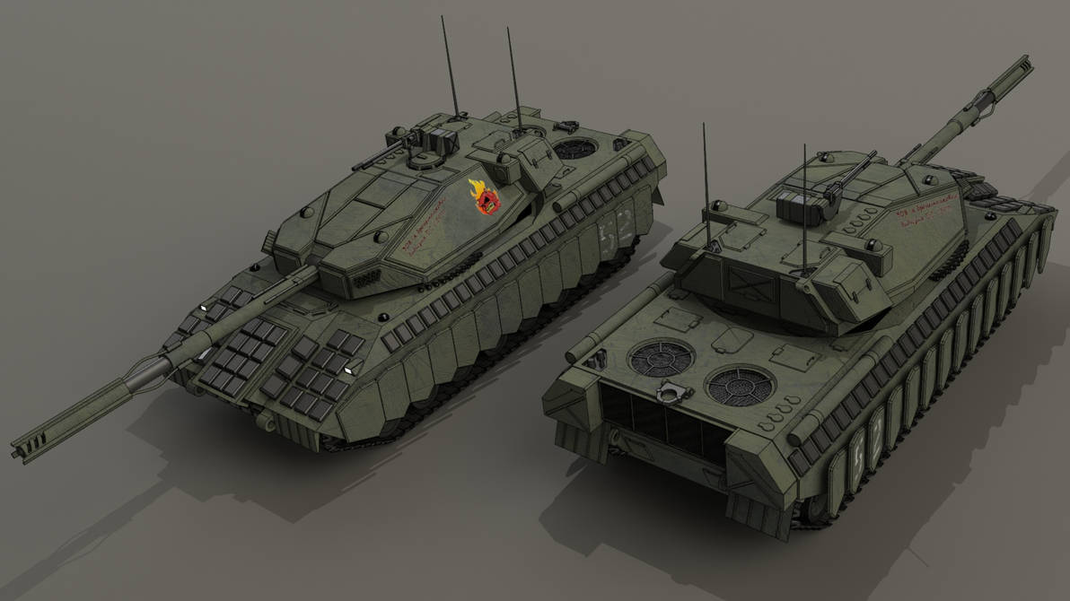 T-83 Storm by SteamTank