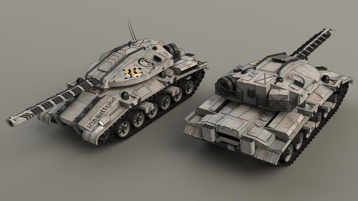 MT-4A1 Liberator by SteamTank