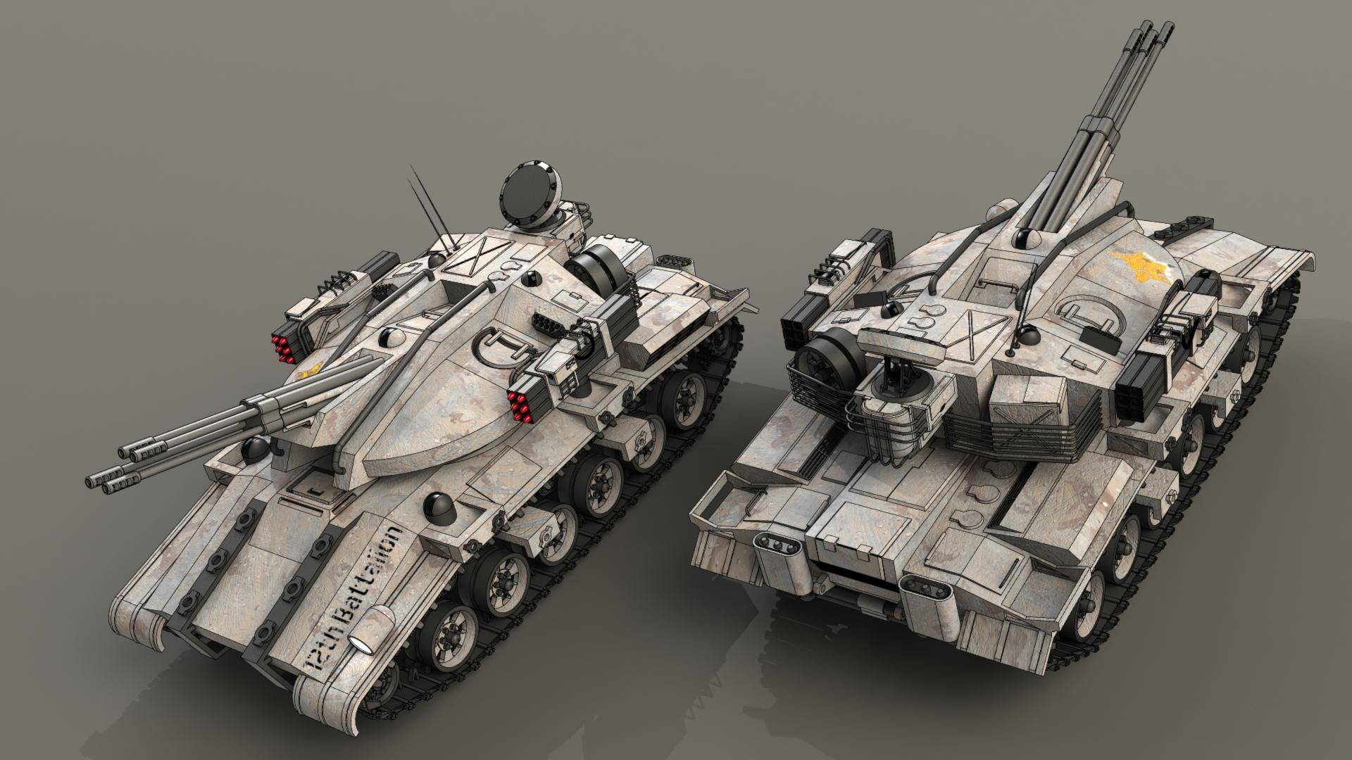 MT-4A5A by SteamTank