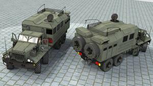 SeAZ-4506 Comm. vehicle by SteamTank