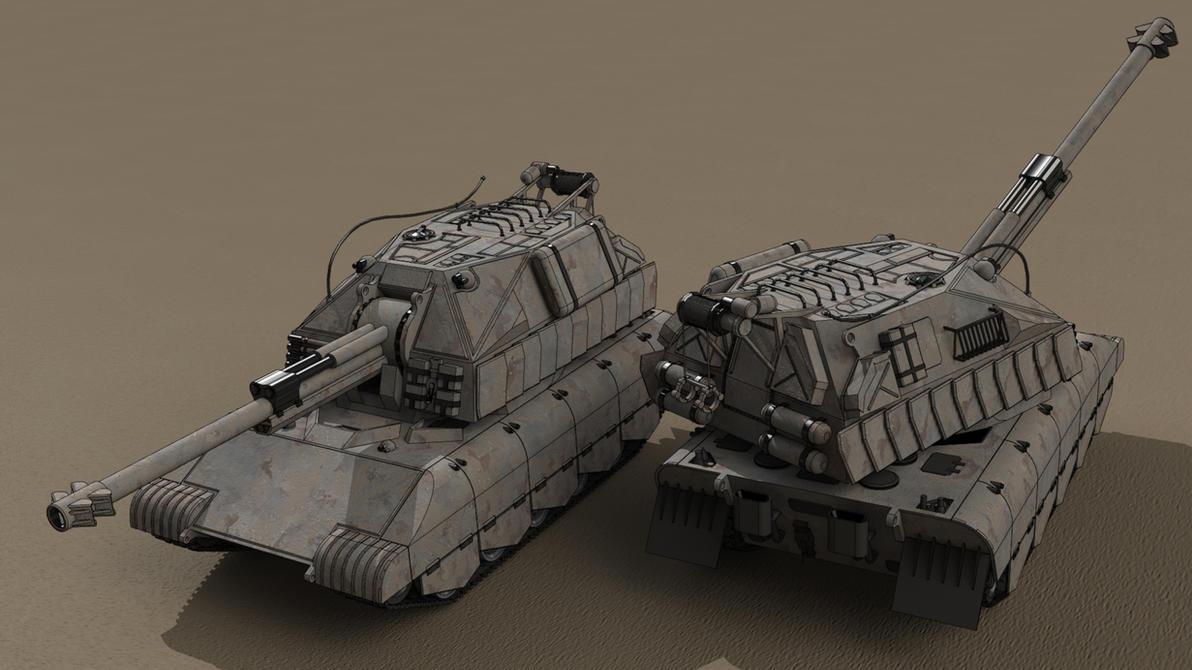 Panzerhaubitze K75 by SteamTank