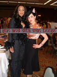 Sun and Dita Von Teese by ladyslaughterhouse