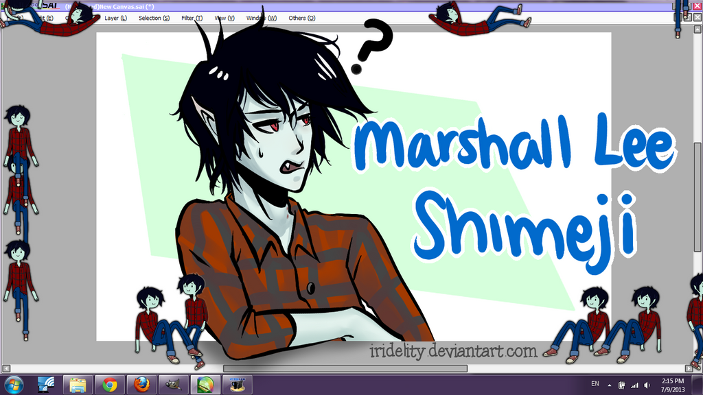 Shimeji Black Cat