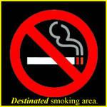 'Destinated' Smoking Area
