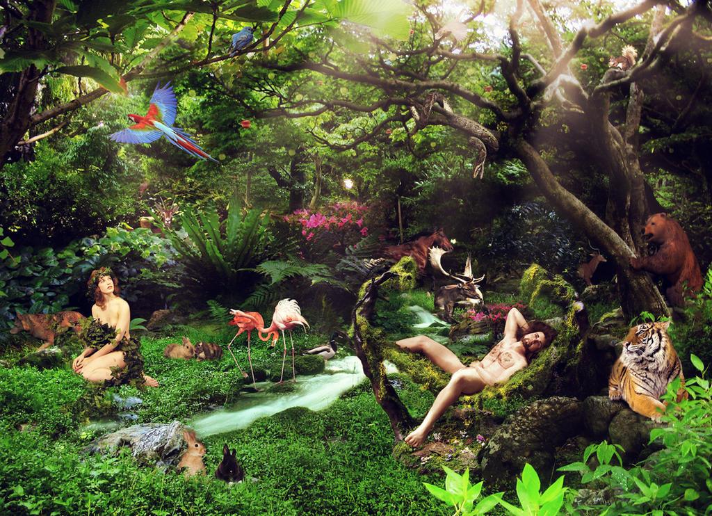 Garden Of Eden By Amosha On Deviantart