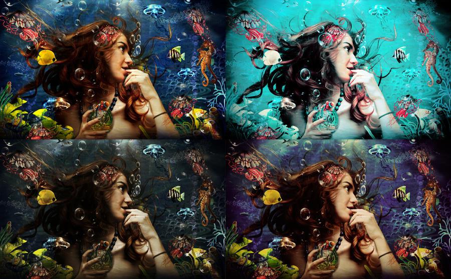 Enchanted-Action by Amosha