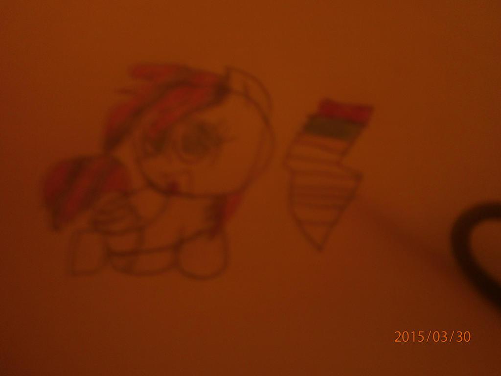 Rocket Dash and his cutie mark by zane4321