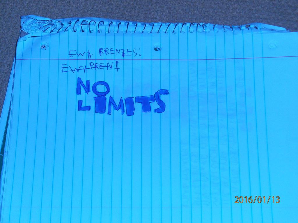 EWA No Limits Match Card by zane4321