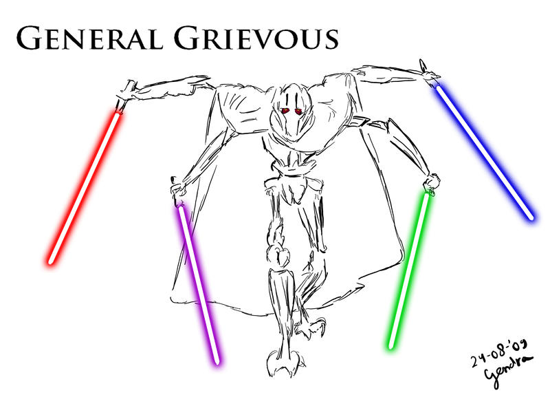 general grievous wallpaper. General Grievous by ~thegendra