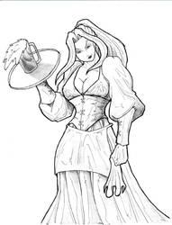 Harmony The Barmaid