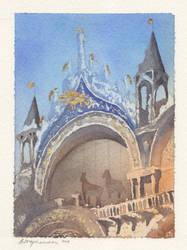 Saint Mark's Basilica by BloodyVagina