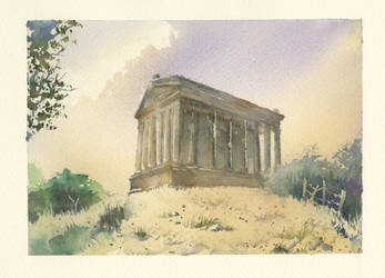 Temple of Garni by BloodyVagina