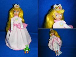 custom princess peach doll