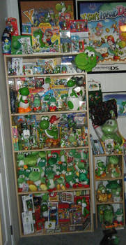 my yoshi collection 5-10-2011