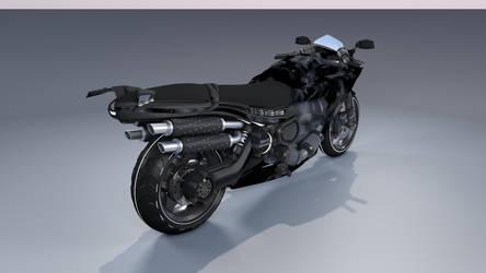 MOTORCYCLE - RedStream - rear side 2 WIP