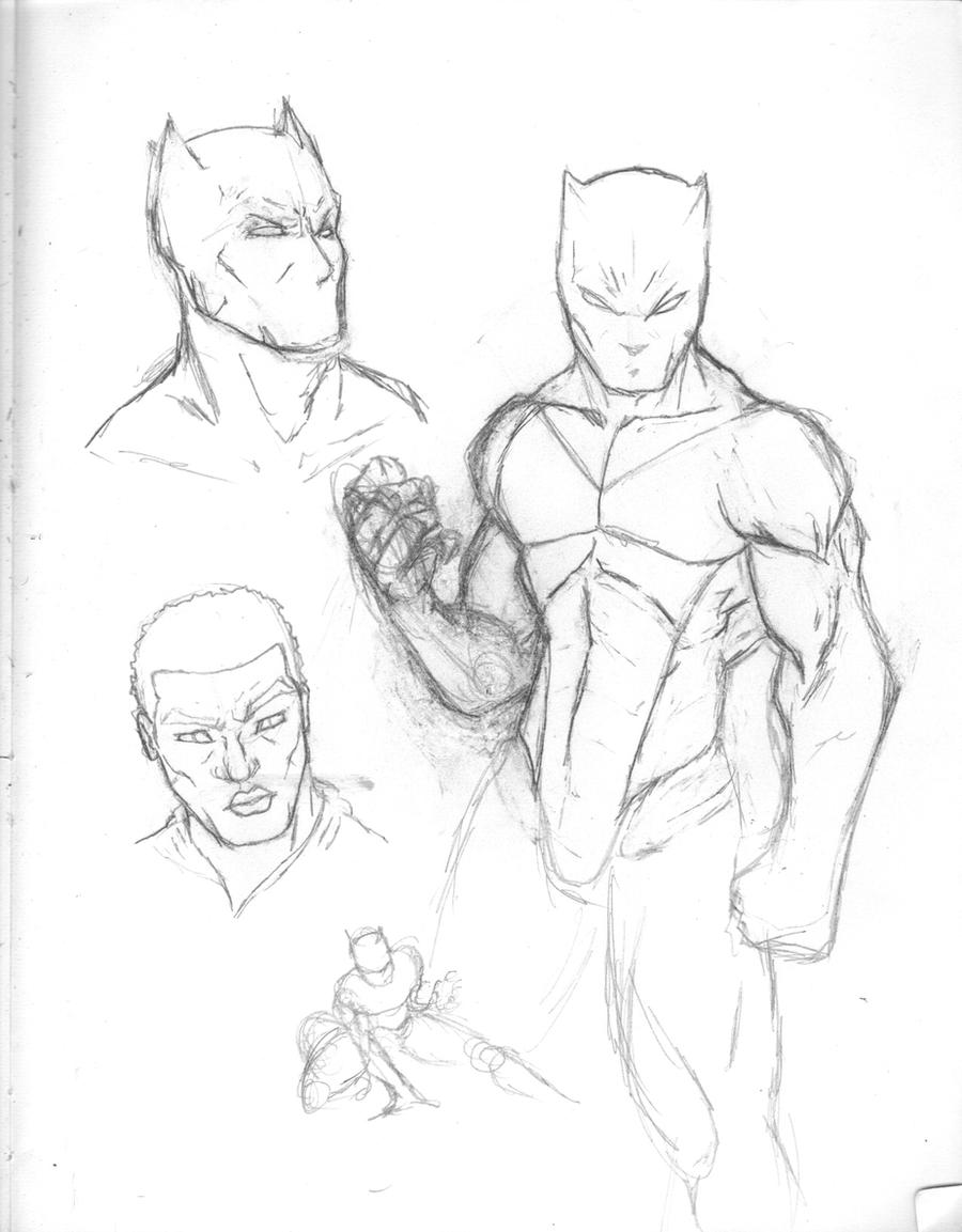 Black Panther Concept Sketch By Dnice On DeviantArt