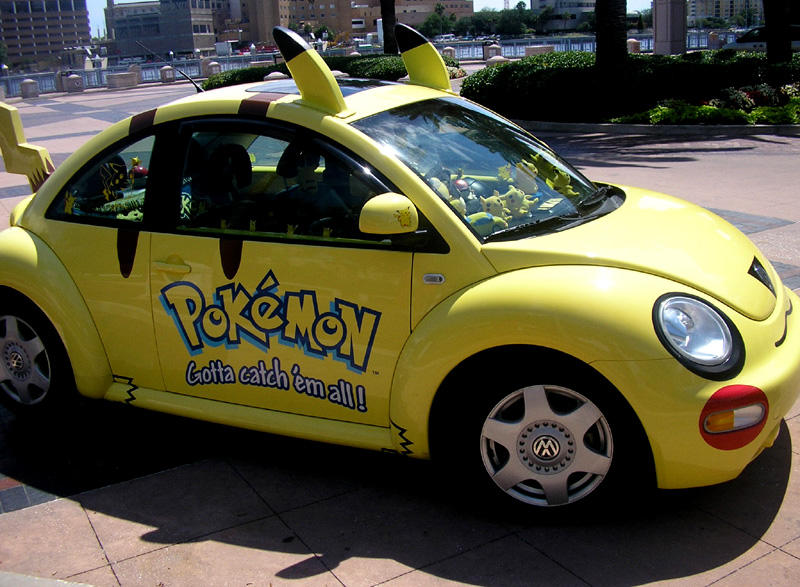 Pokemon Vehicle by KnightSaberRage - Pika�hu Hastal���