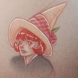 Rose Kettle -colorized sketch-